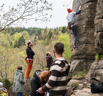 På klatretur i Aspen