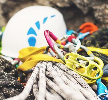 Oppbevaring og vedlikehold av klatreutstyr
