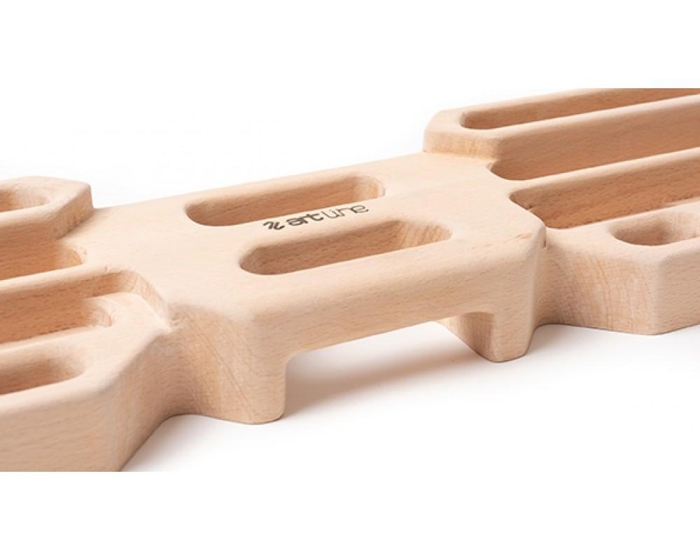Wood Grips™ Compact II hangboard til træning fra Metolius