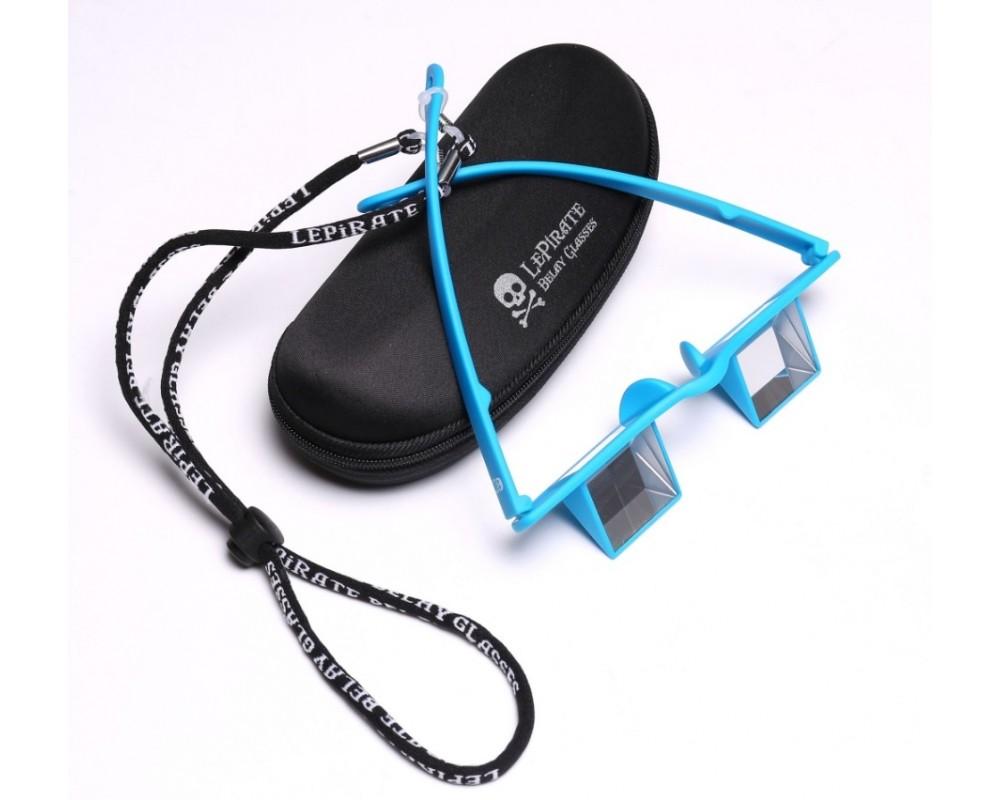 Belay Glasses Briller i blå til klatring fra LePirate Glasses