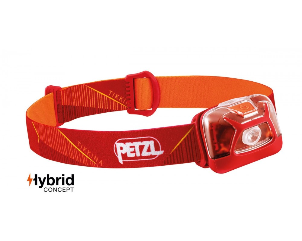 Pandelampe TIKKINA 2019 fra Petzl 250 lumens sort