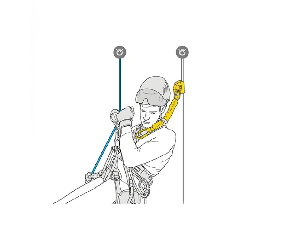 Energiabsorber Petzl ASAP'SORBER til ASAP og ASAP LOCK klatreudstyr 20 cm