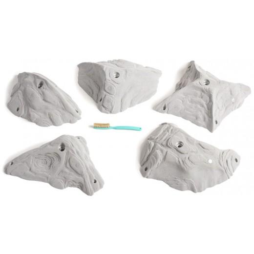 Store klatregreb/slopers fra Stonelineserien fra Artline.