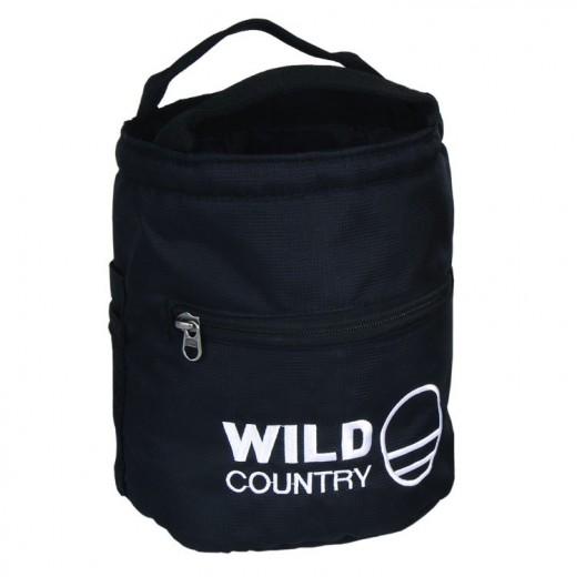 Boulder Kalkpose fra Wild Country i sort