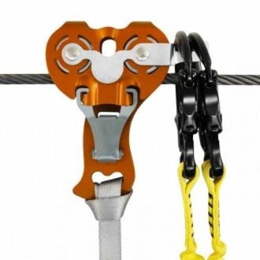 Kong Zip Evo + Hook til svævebaner