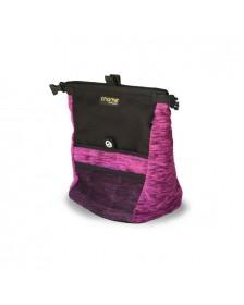 Kurb Purple Boulder Kalkpose Chalk Bag til klatring og bouldering