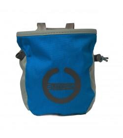 Butora kalkpose i blå med logo/symbol