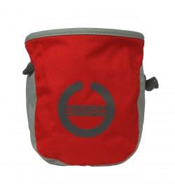 Butora kalkpose med logo/symbol i rød til klatring