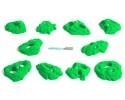 Stoneline Pocket - Fluro-green