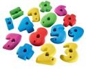 Køb klatrevæg med tal-klatregreb til børn