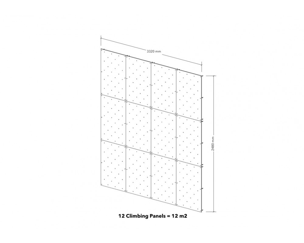 12m2 Climbing Panels