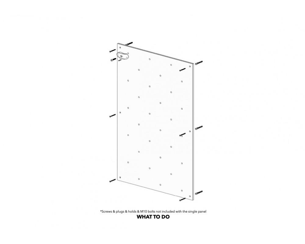 1m2 Climbing Panel