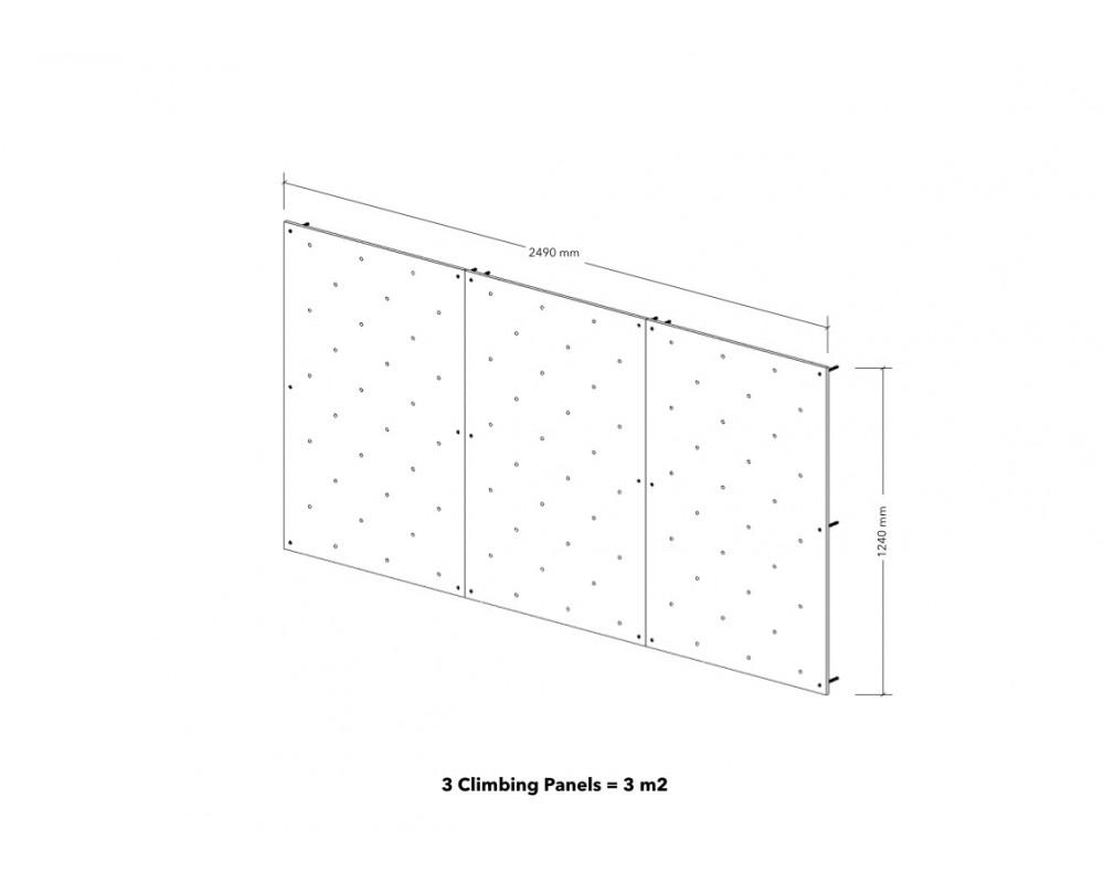 3m2 Climbing Panels