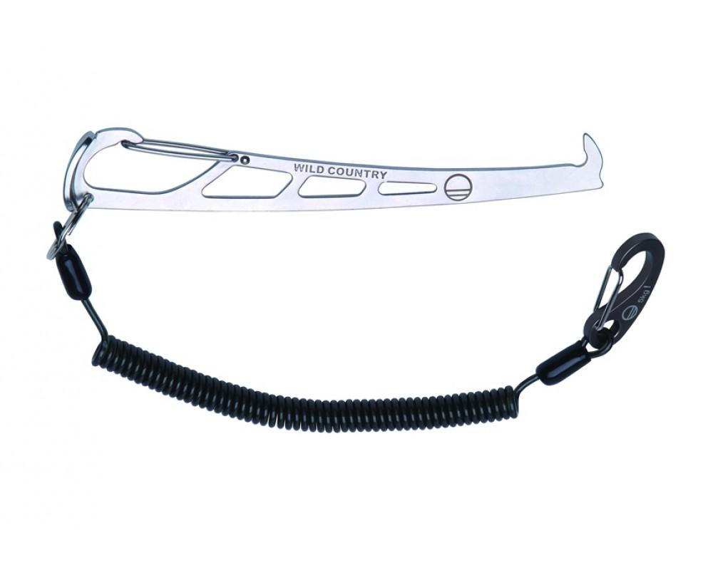 Pro Key kilepirk med leash fra Wild Country