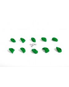 Lines Mini Jugs - Leaf-green