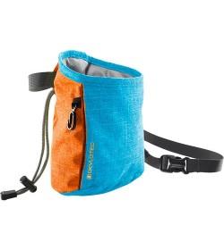 Kalkpose, slidstærk, 2.0. Turkis og orange
