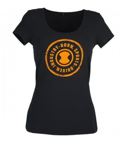 t-shirt fra Skylotec i lækker kvalitet - foran