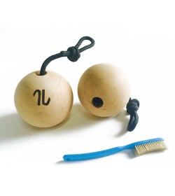 Træning til fingerstyrke klatring - Artline Balls wood/træ 10.0
