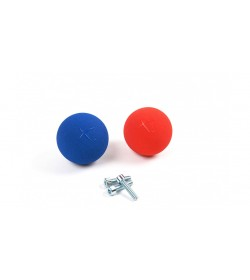 Exballs 10 - Blue/Red