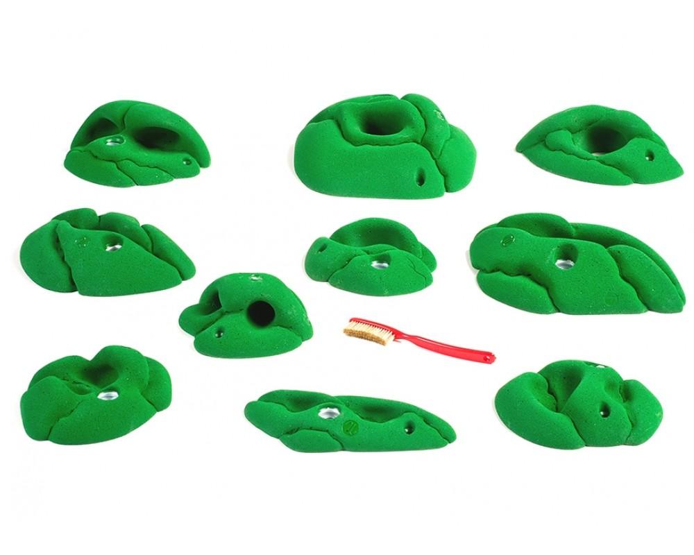 10 stk klatregreb af typen pockets