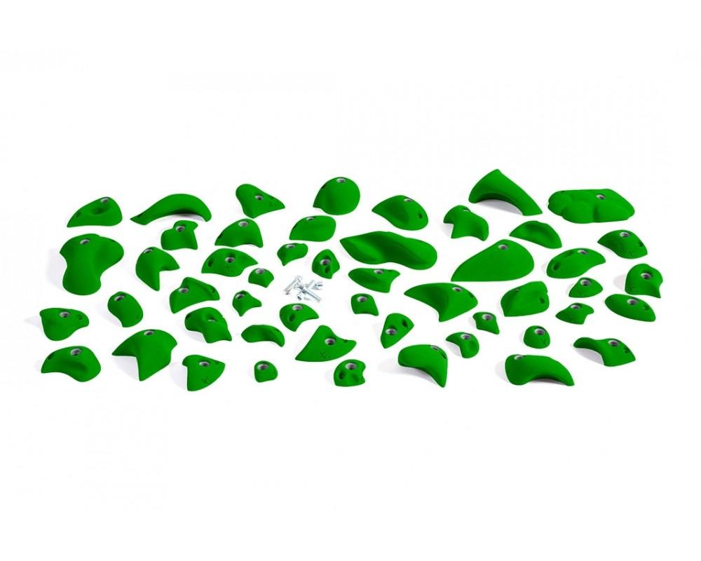 Eco Pack 1 - Forskellige klatregreb 50 stk