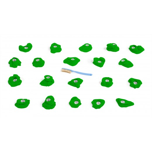 Stoneline fodgreb. 20 stk lækre klatregreb